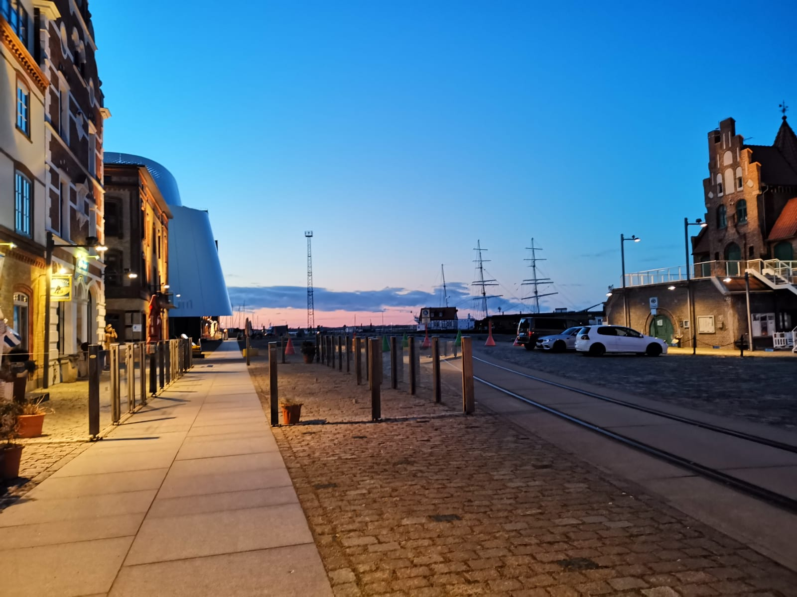 Hafen von Stralsund / Ozeaneum