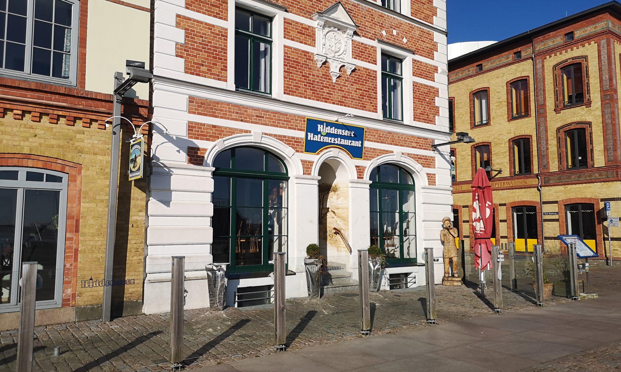 Arbeiten im Hiddenseer Hafenrestaurant
